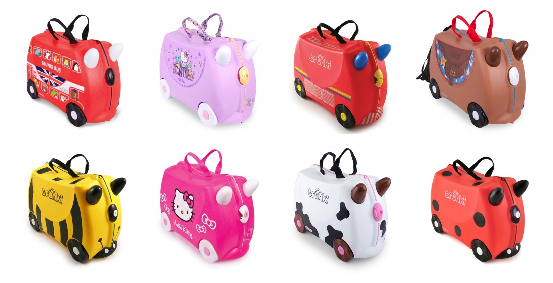 la valise trunki l preuve de l a roport summer girl. Black Bedroom Furniture Sets. Home Design Ideas