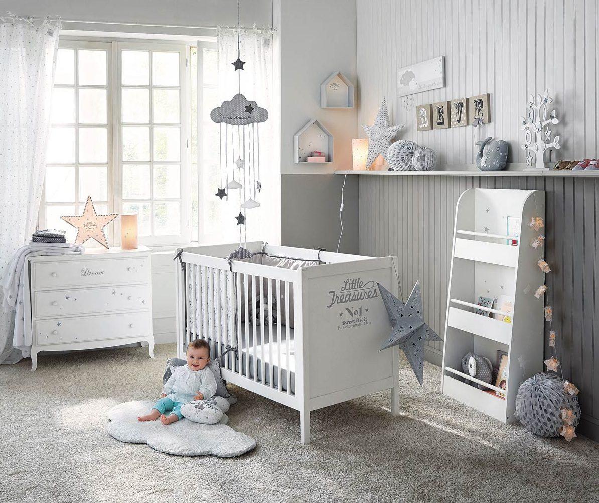 Inspiration déco #20 : nuages et étoiles pour la chambre de bébé