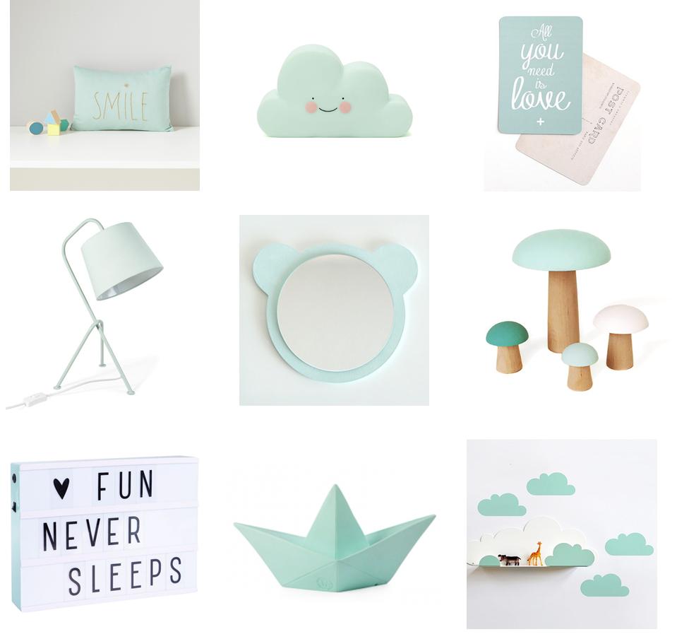 Chambre bébé mint : inspiration et sélection shopping - Summer Girl
