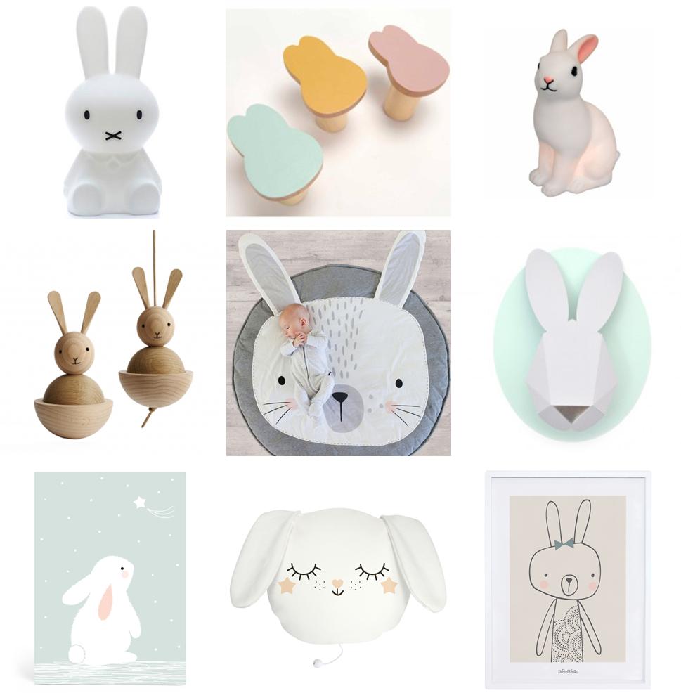 Lampe Veilleuse Lapin Miffy des lapins (pas crétins) envahissent la déco - summer girl